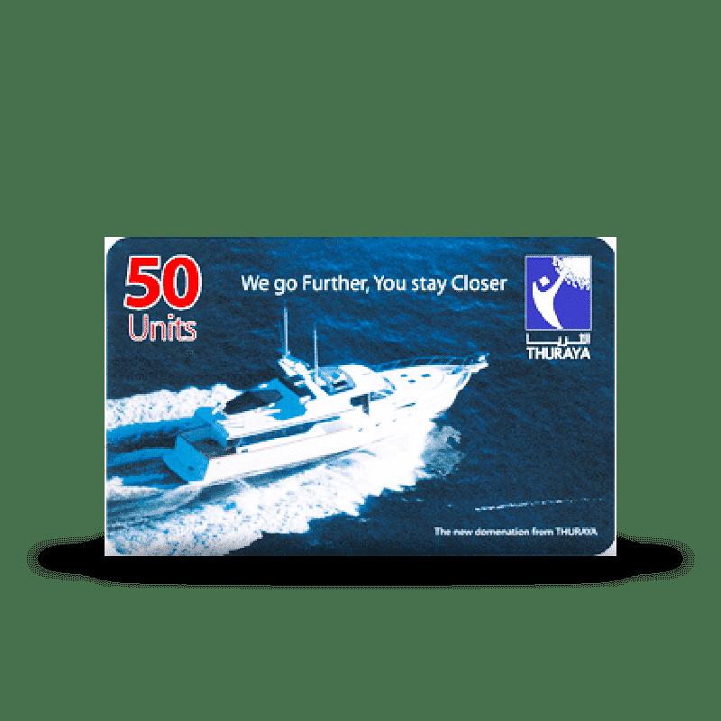 Recarga 50 Unidades Thuraya