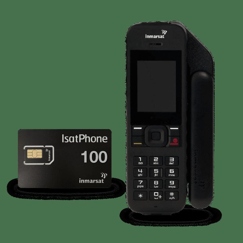 Pack IsatPhone 2 con tarjeta SIM prepago 100