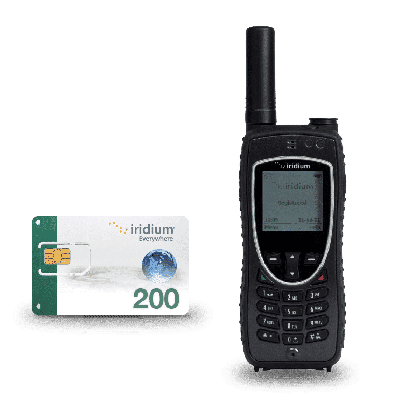 Iridium Extreme con Tarjeta SIM prepago 200