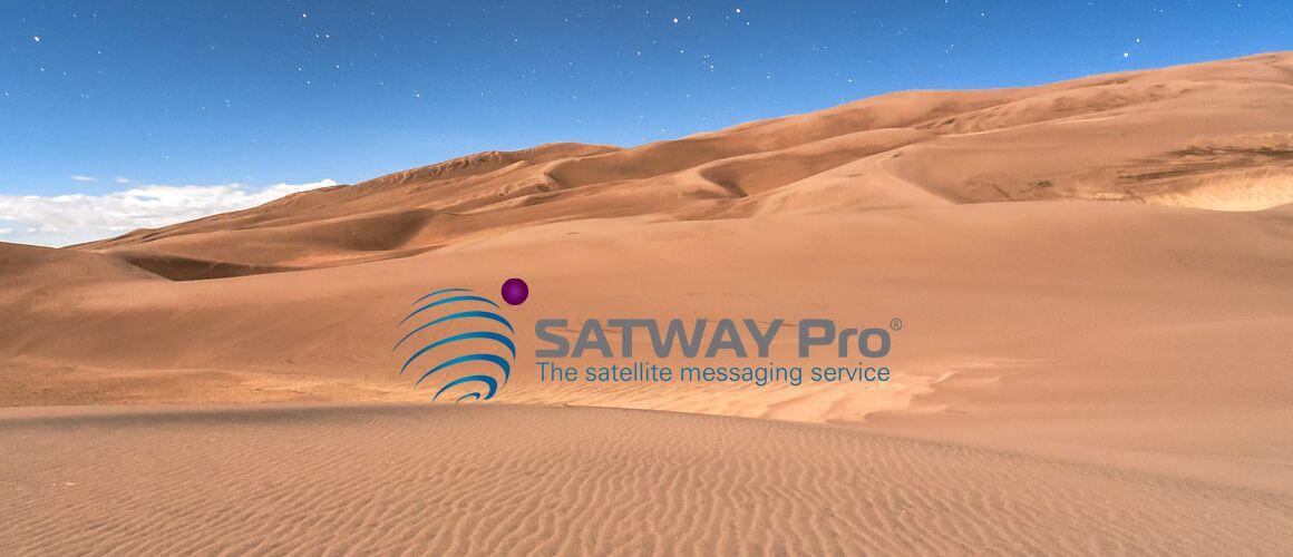 Satway Pro; El servicio de mensajería por satélite