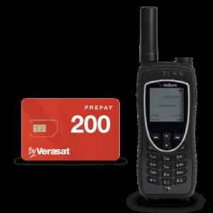 Packs teléfono satélite