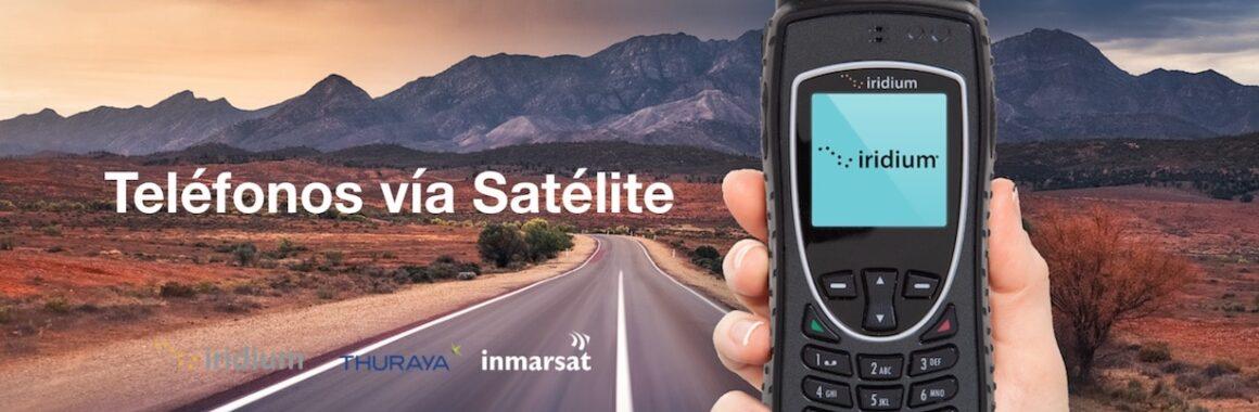 Telefonos via satelite